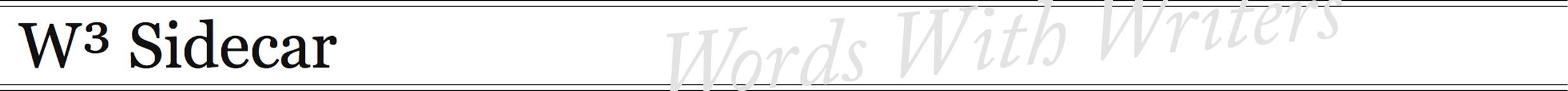 W3-Sidecar_Banner